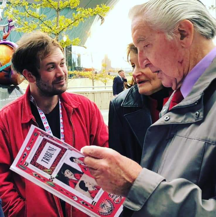 Tribune's photo on Dennis Skinner