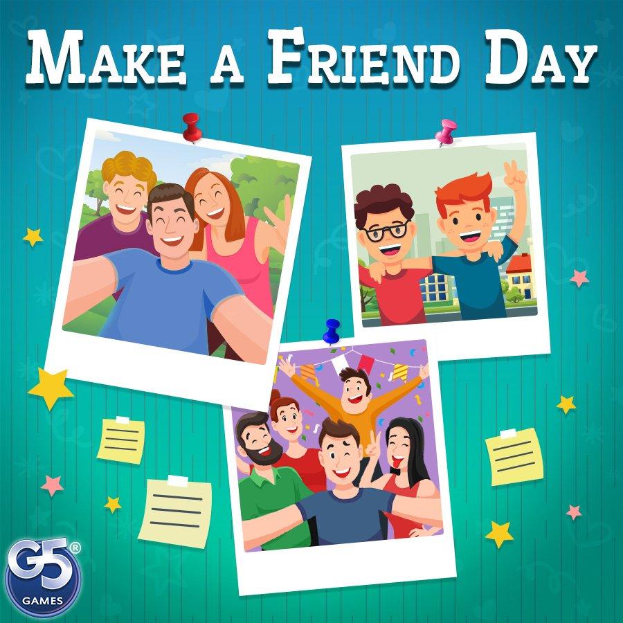 G5 Entertainment's photo on #MakeAFriendDay