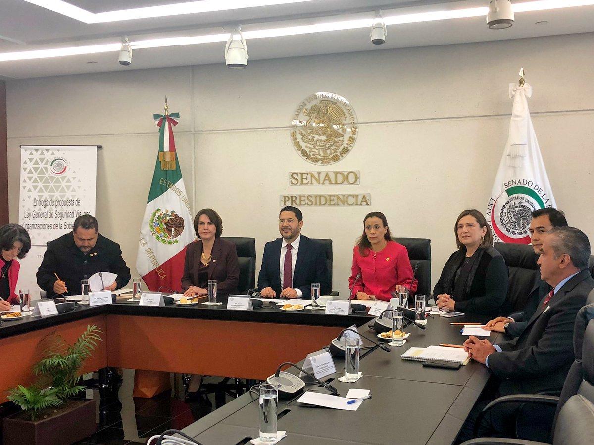 Martí Batres's photo on Ley General de Seguridad Vial