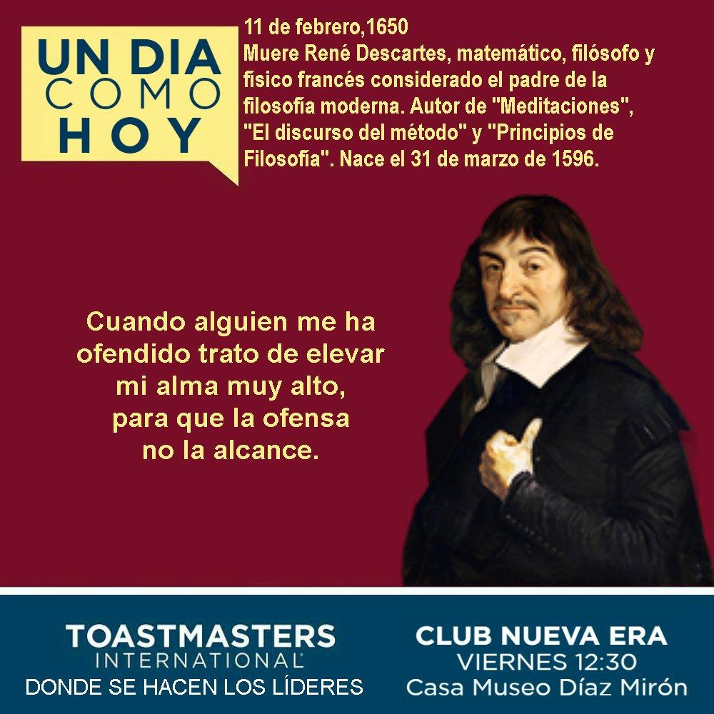 Club Nueva Era's photo on René Descartes