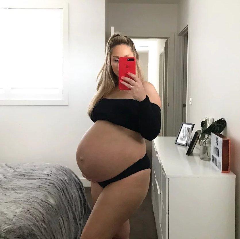 Беременна картинки с большим животом