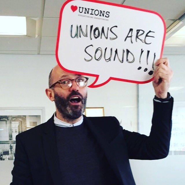 Carl Roper's photo on #HeartUnions