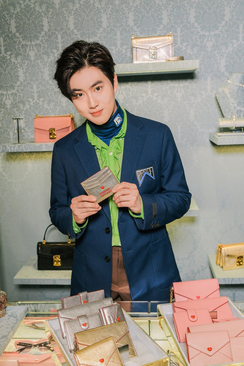 Celebrity @EXO_suho_b attended a special event at the #MiuMiu Canton Road store to celebrate Valentine's Day with VIP guests and influencers on February 11th 2019.  #MiuMiuCelebritiesCelebrities