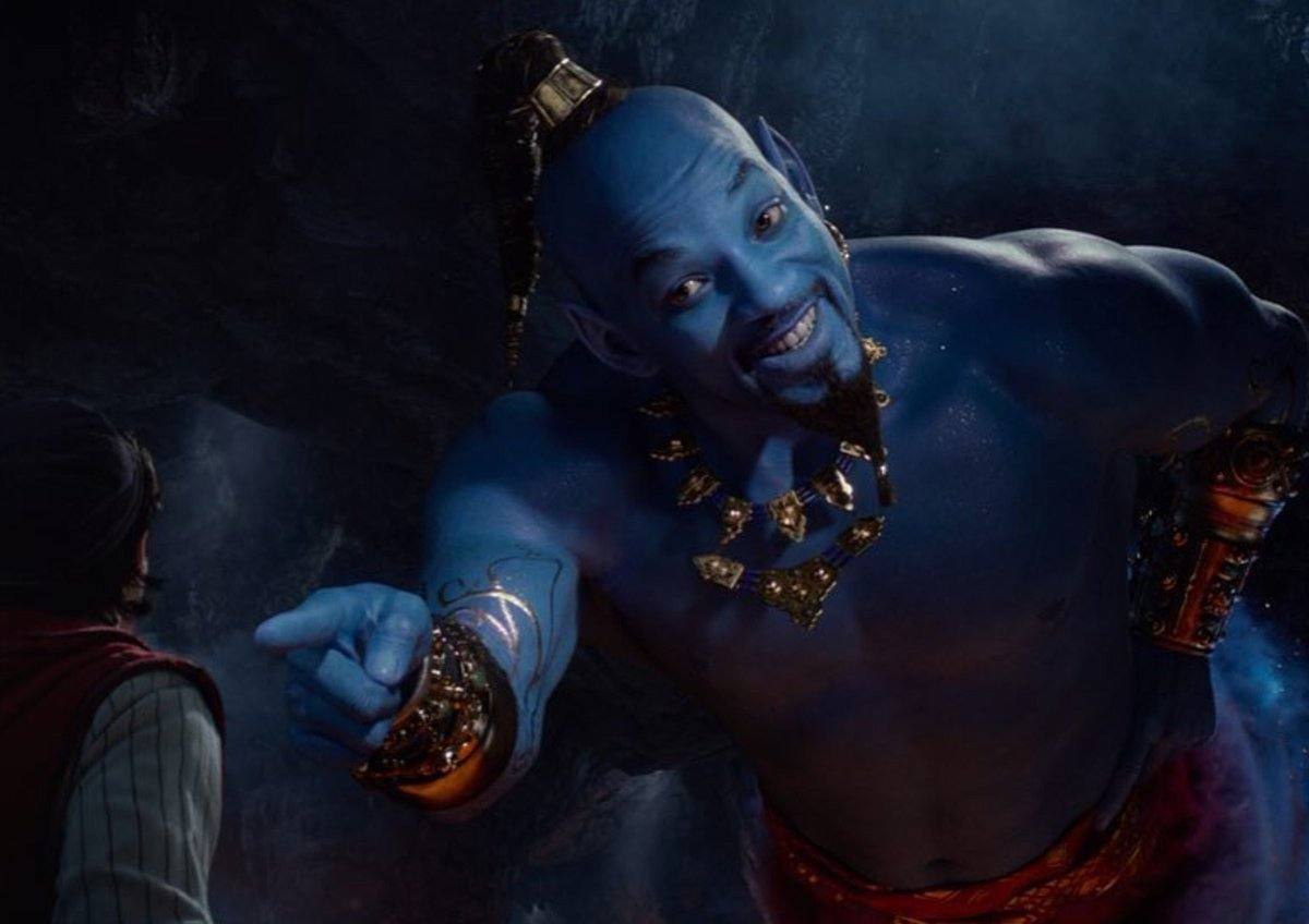 DisneyWorldPost's photo on will smith as the genie