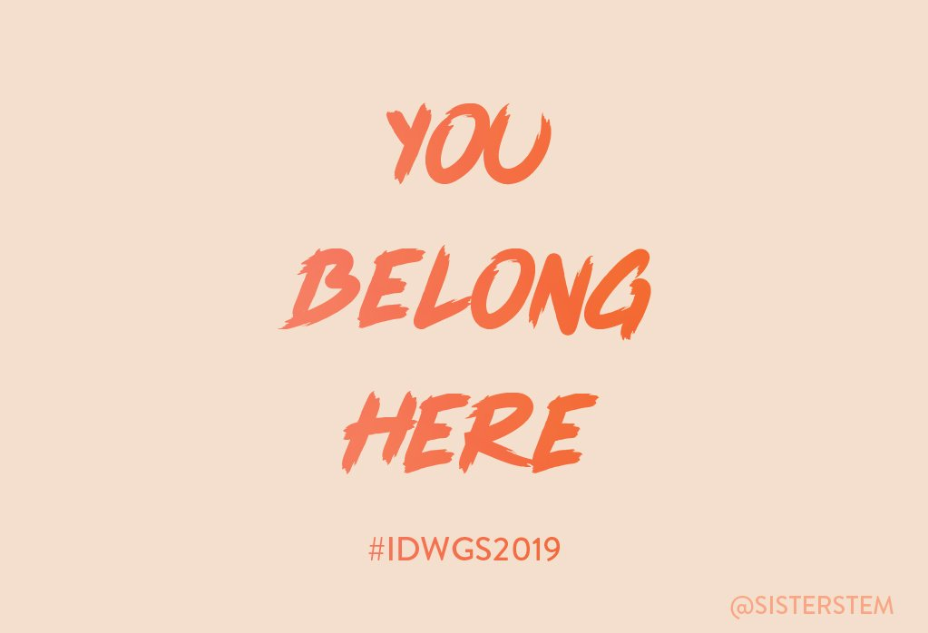 Sister's photo on #idwgs2019