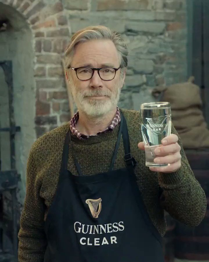How to drink your very first #GuinnessClear Find out more https://bit.ly/2HMReEE  http://www.DrinkAware.ie