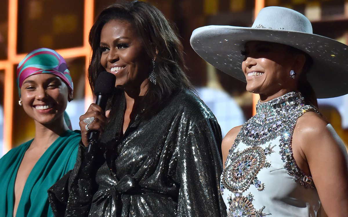From #DollyParton to #MichelleObama: How the Grammys Unfolded on Twitter https://t.co/Fv3hOCr2EA