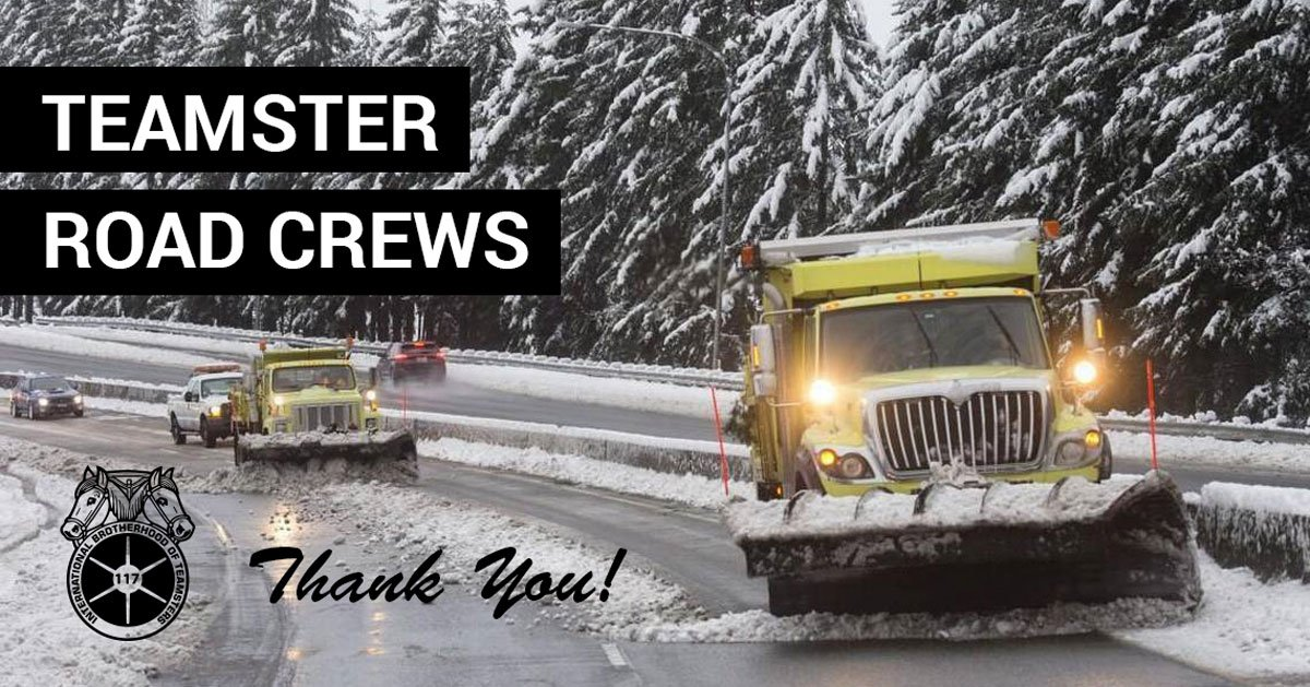 Teamsters 117's photo on #Snowmaggedon2019