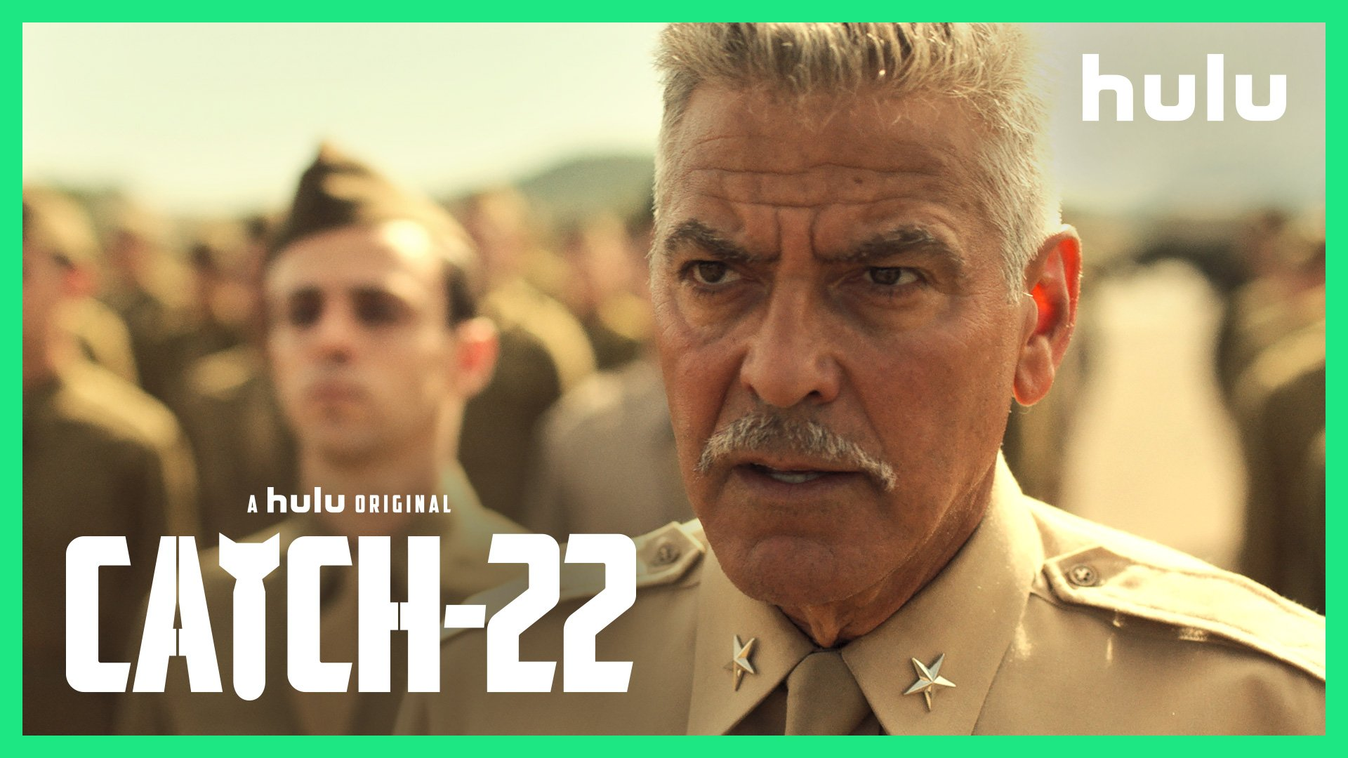That's some Catch that Catch-22. #Catch22onhulu premieres May 17. https://t.co/hkZgUy2LkN https://t.co/TJSIejNq32