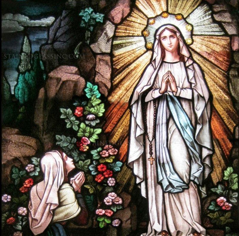 Santa Palabra ﻥ's photo on Nuestra Señora de Lourdes