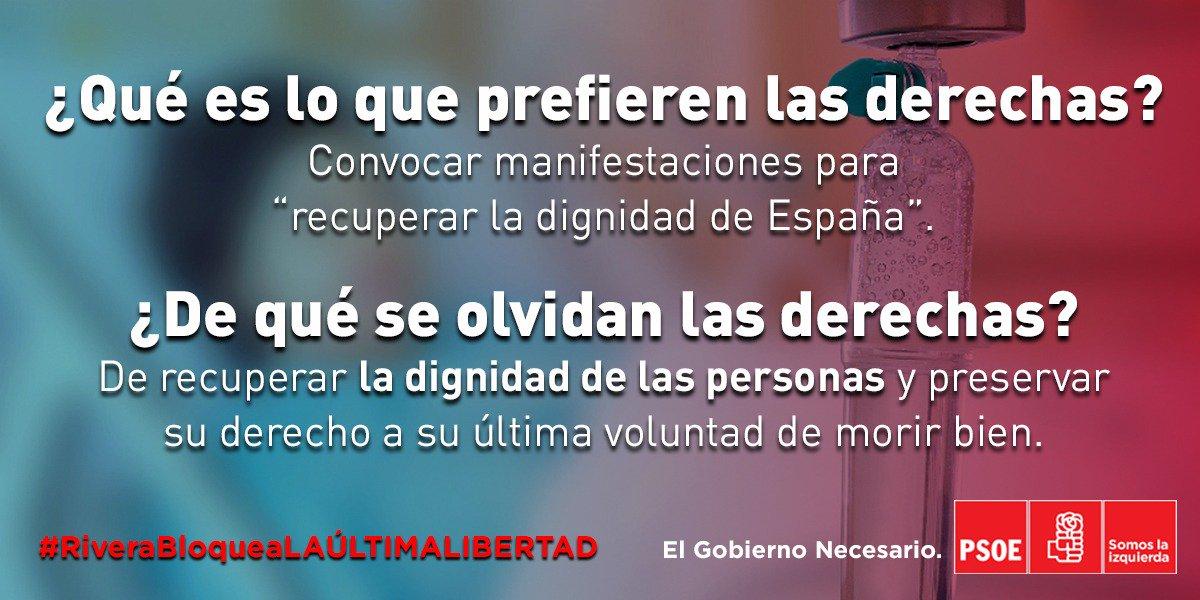 PSOE Congreso's photo on #eutanasia