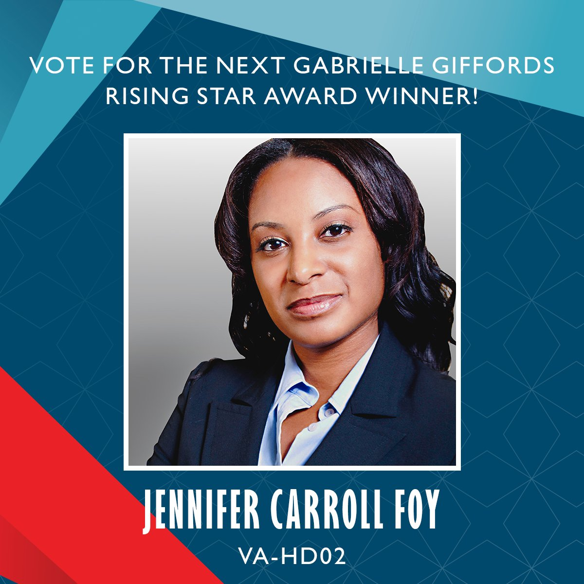 I'm so proud to share that I've been nominated for @emilyslist's Gabrielle Giffords Rising Star Award! Please vote to let @emilyslist know if you think I should be this year's honoree!  https://secure.emilyslist.org/page/s/20190211_website_RisingStarVoteFoy?&source=WRSOJ204_digital_social_20190211_RisingStarFoy…