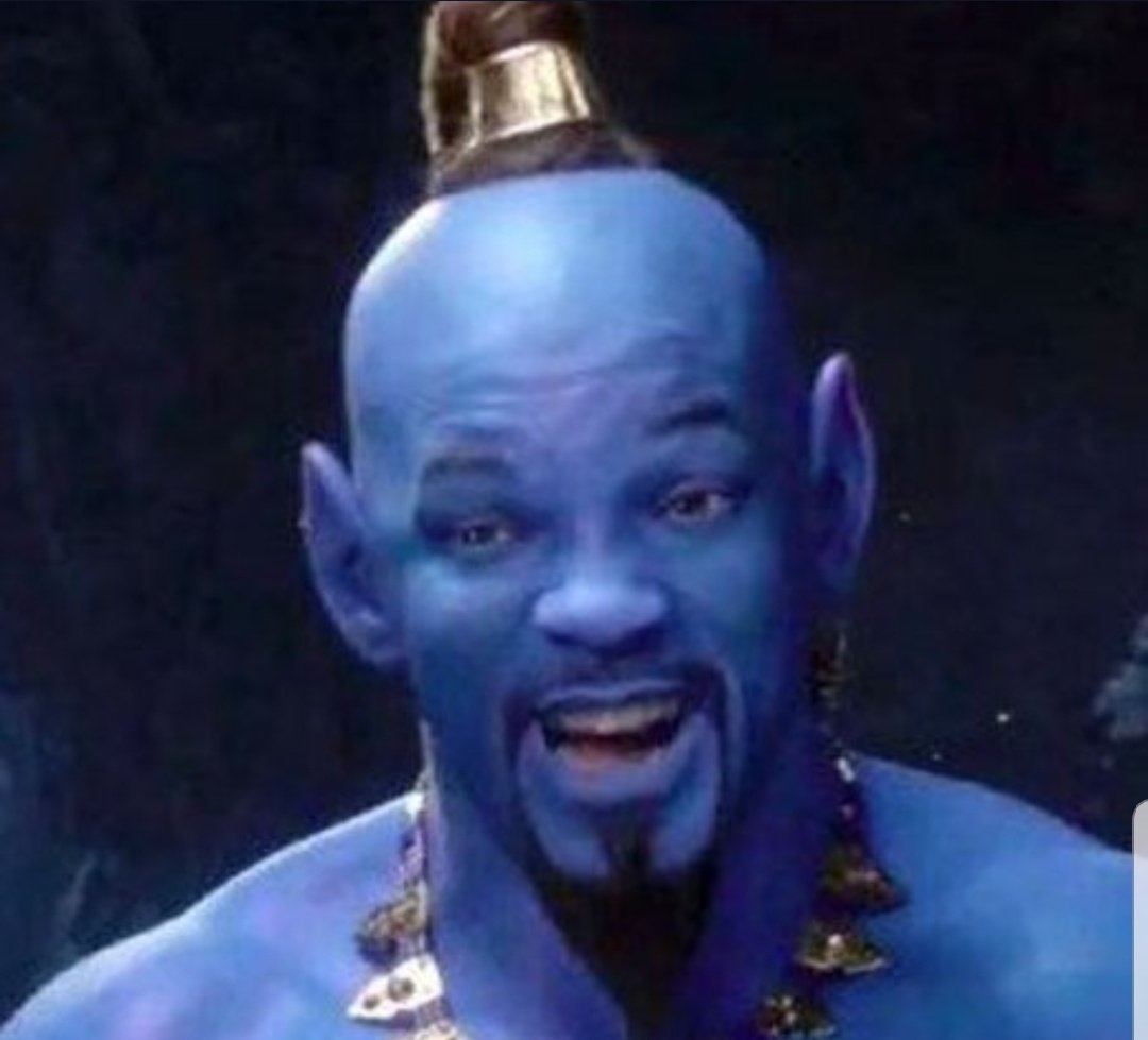 MY EYEEEEEES THEY BURN!!!! #Aladdin  #Aladdintrailer #Genie <br>http://pic.twitter.com/vIYslkn3kt