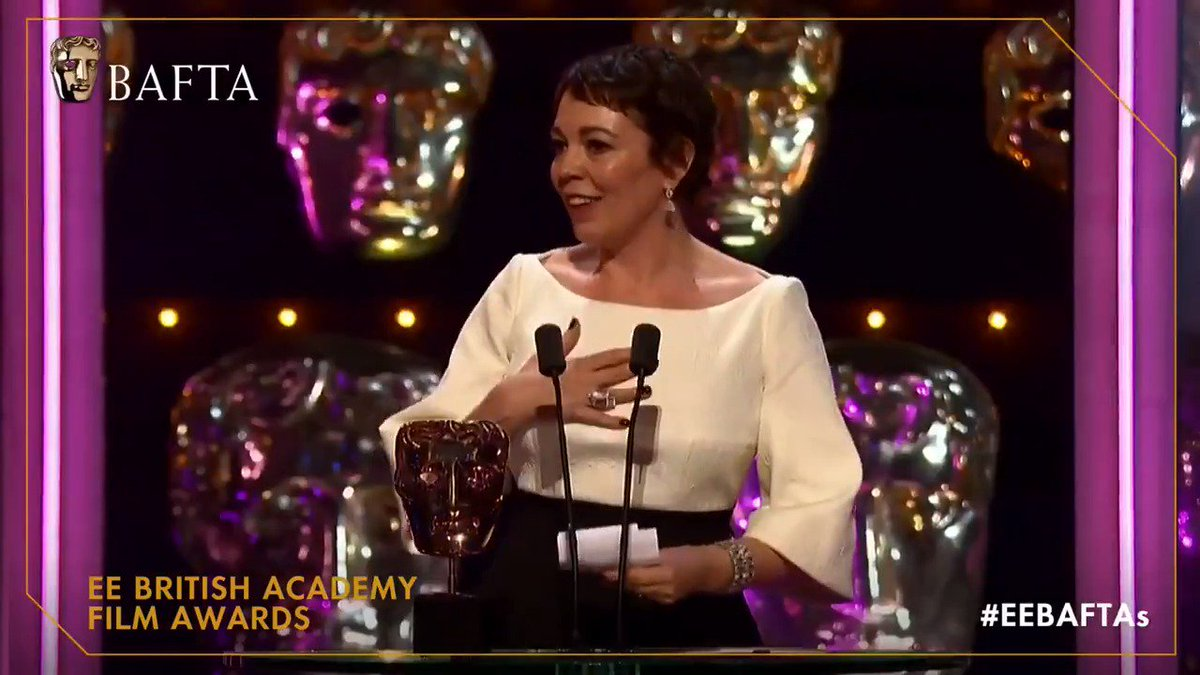 BAFTA's photo on olivia colman