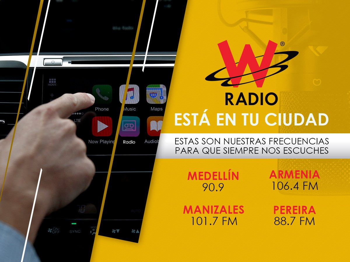 W Radio Colombia's photo on #NoMasBalasPerdidas