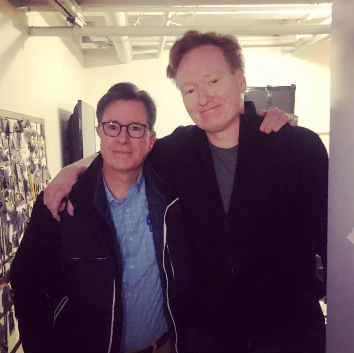 I flew to New York City for an intense and meaningful mind meld with my long lost comedy brother @StephenAtHome. http://applepodcasts.com/teamcoco