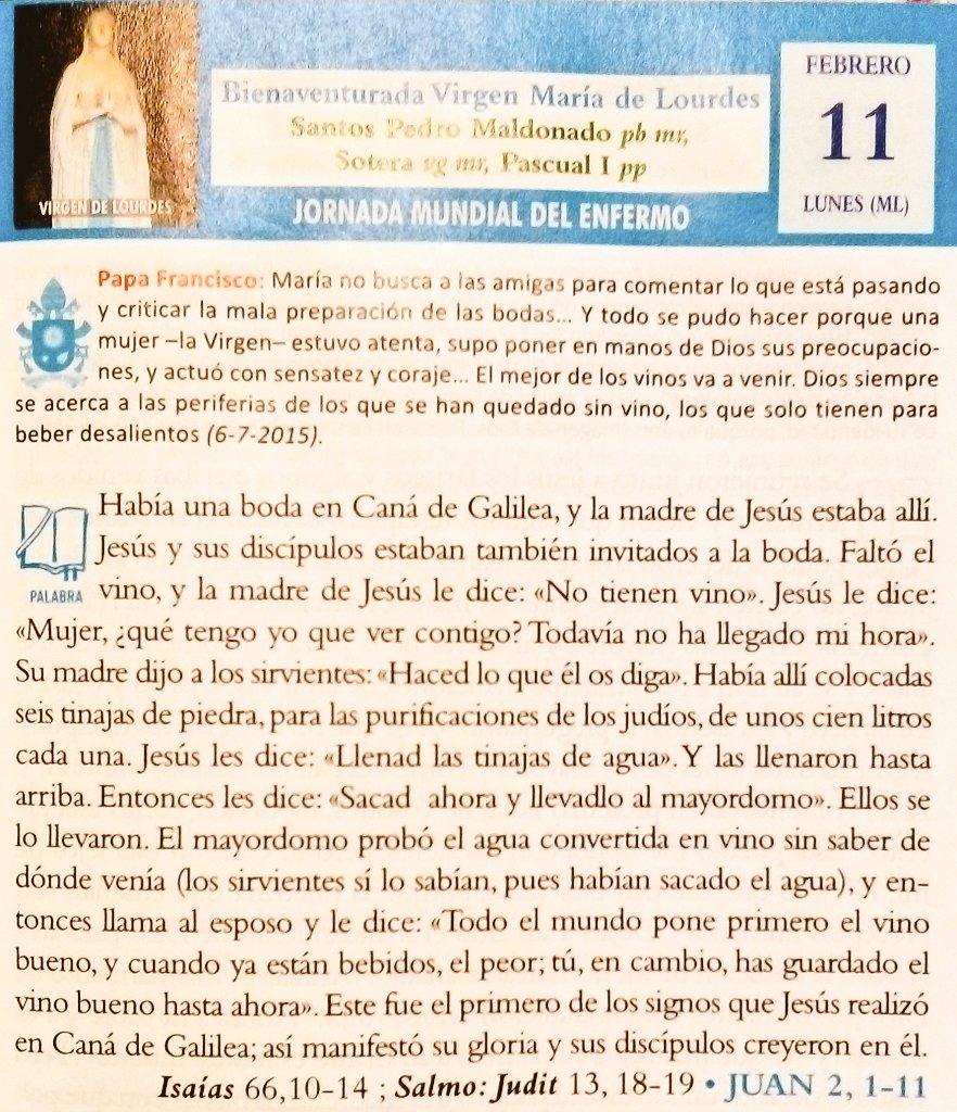 Santa Marta's photo on Virgen de Lourdes