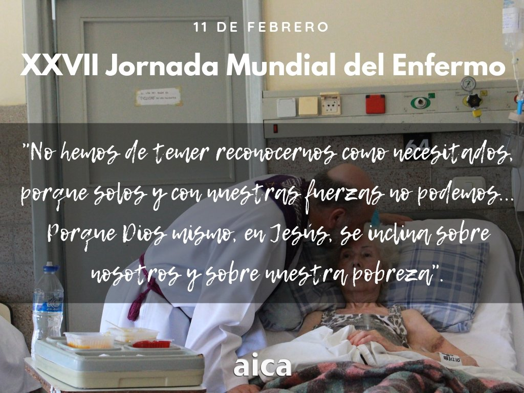 AICA's photo on #JornadaMundialDelEnfermo
