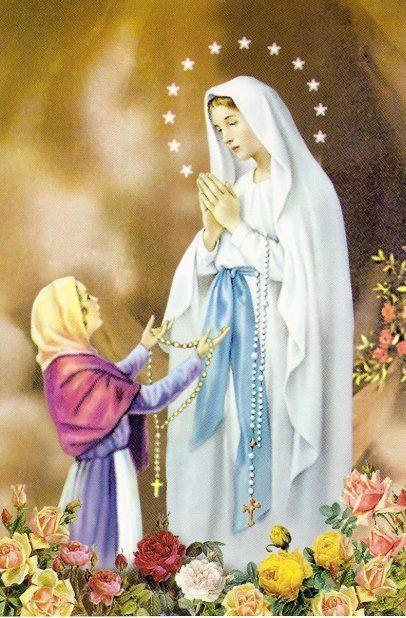 María del Rosario Guerra's photo on Nuestra Señora de Lourdes