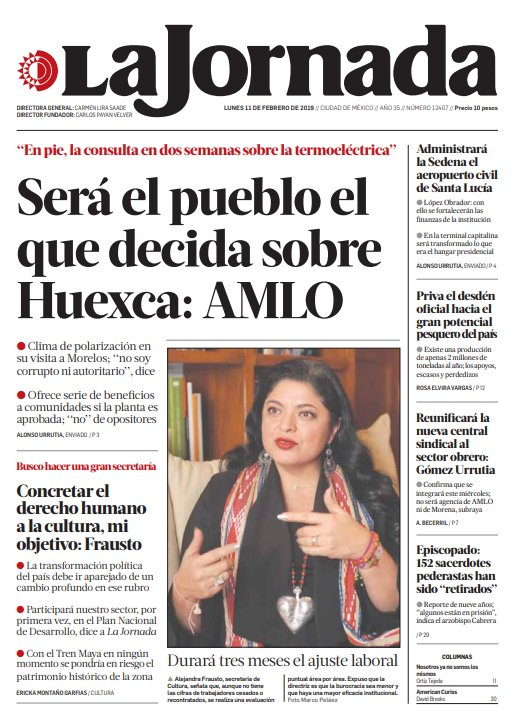 La Jornada's photo on #SantaLucía