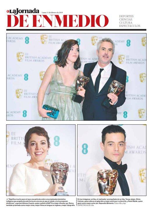La Jornada Impresa's photo on Premios Bafta