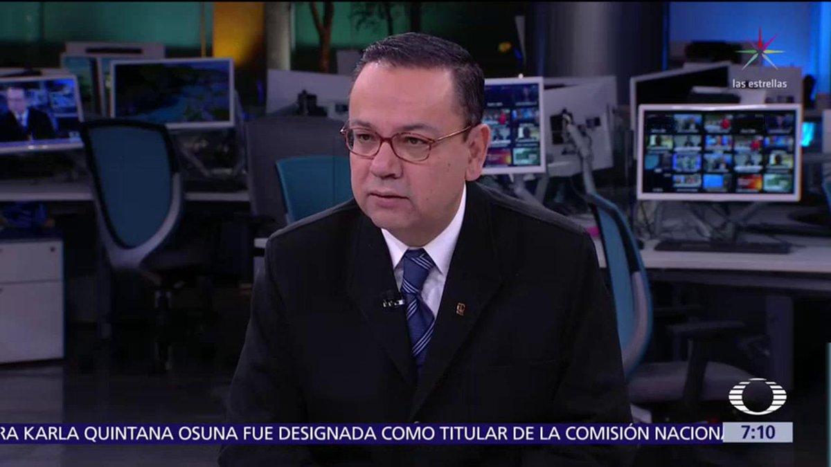 Noticieros Televisa's photo on Germán Martínez