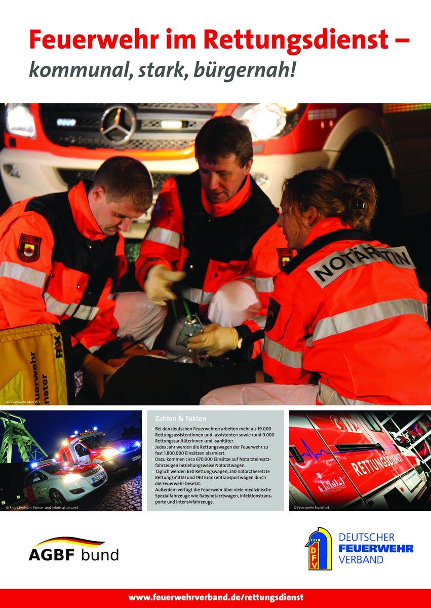 Dt. Feuerwehrverband's photo on Einsätze