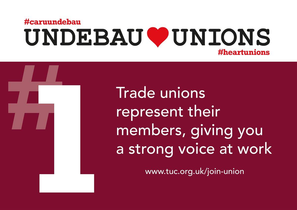 Wales TUC Cymru's photo on #HeartUnions