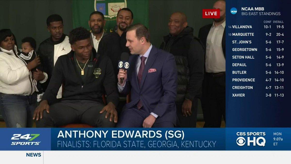 CBS Sports HQ's photo on Anthony Edwards