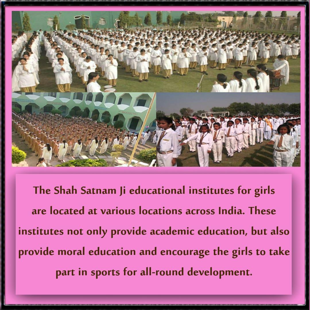 SMG Haryana's photo on #EducateGirlsSaysStRamRahim