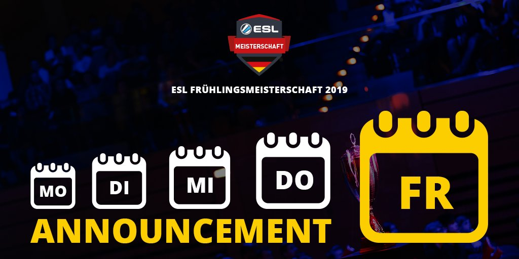 ESL Germany's photo on #ESLMeisterschaft