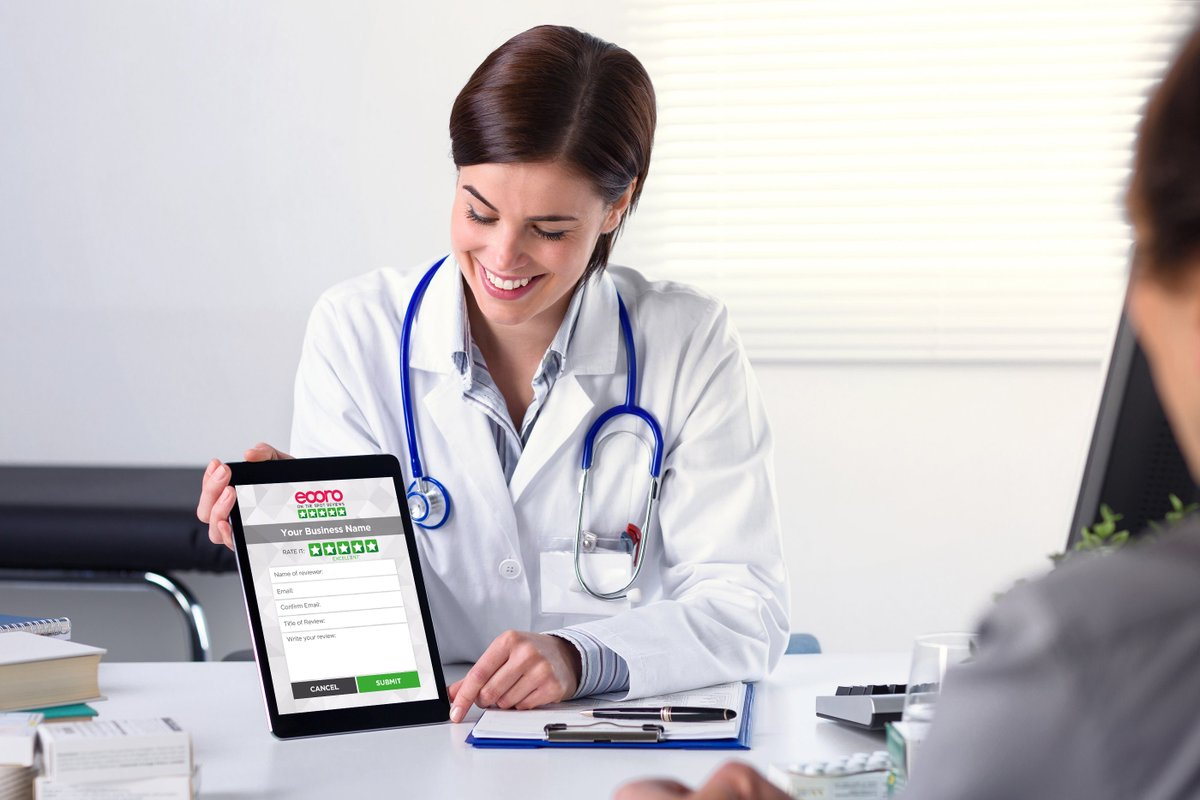 Patients can write reviews while they wait, with the Eooro Review Collector App.  30 DAY FREE TRIAL - NO CARD REQ - http://www.Eooro.com  #digitalhealth #hcsm #healthtalk #4patients #hcr #hitsm #dentists #dental #medical #plasticsurgery #chiropractor #physiotherapy