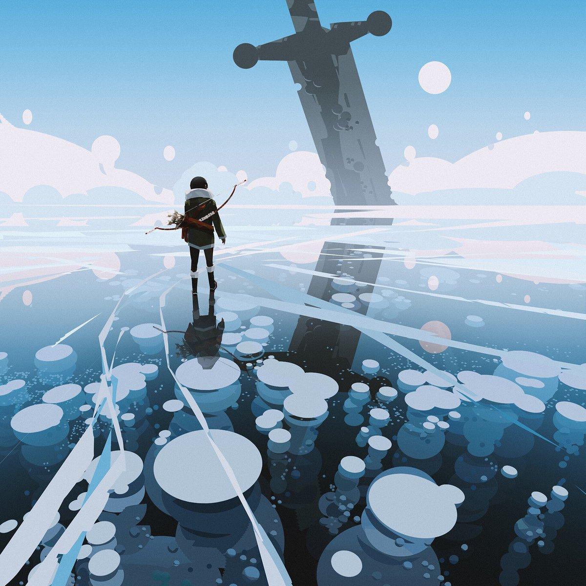 Concept Art Ice World