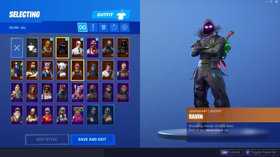 Fortnite account for sale ! Has some good skins etc.. please no time wasters dm me if interested