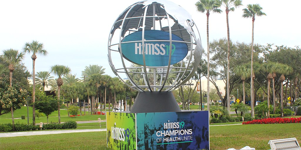 HIMSS's photo on #HIMSS19