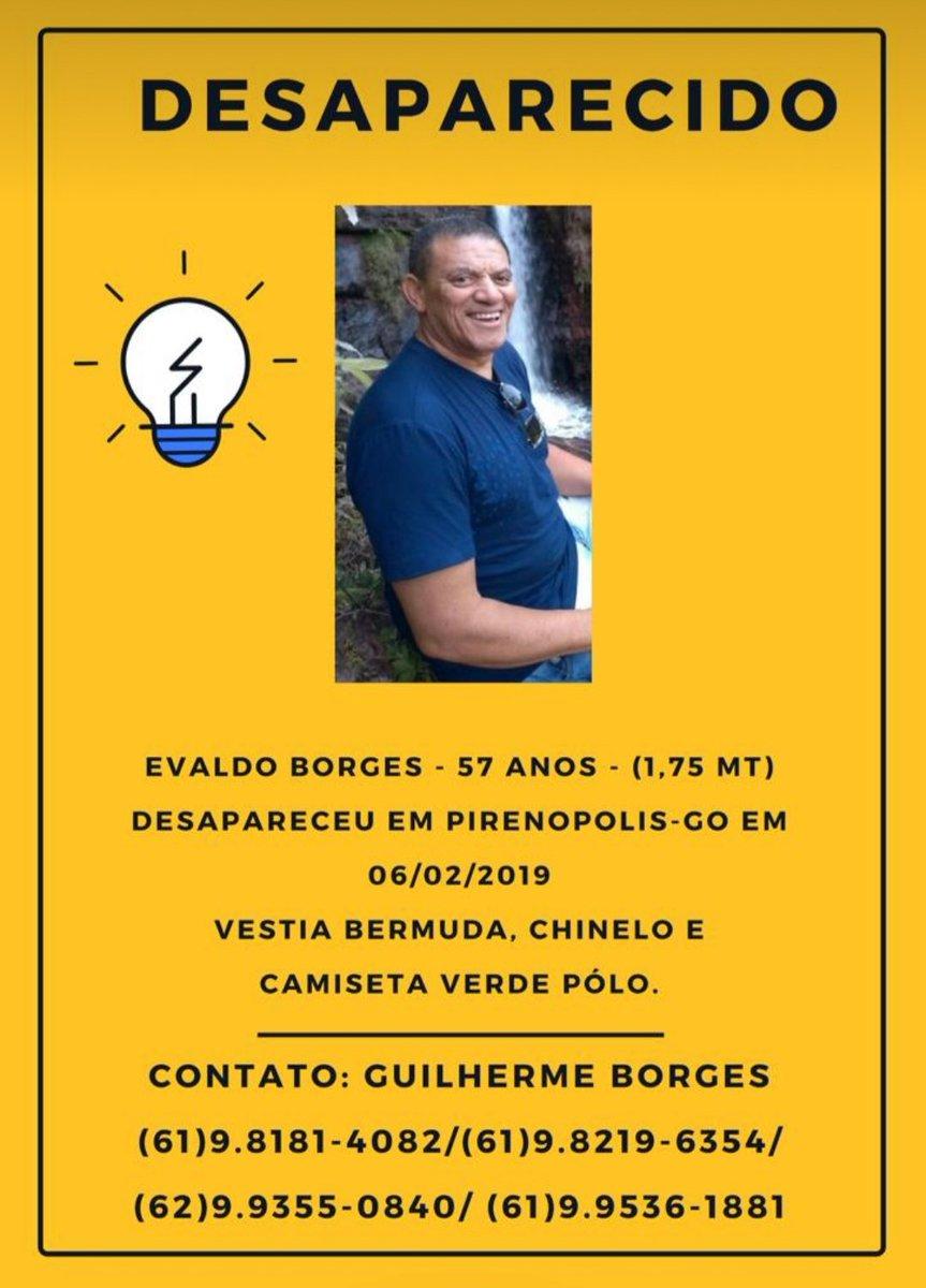RT @leilianes: #euconfessoq minha esperanca ta por um fio! #pirenópolis #brasilia #desaparecido https://t.co/BUt1cOgTPn