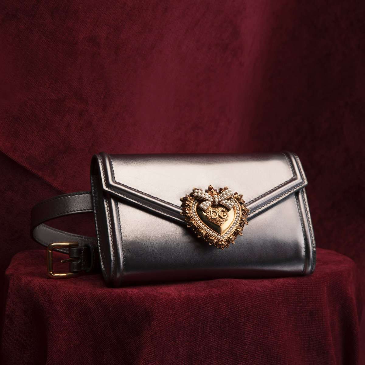 Celebrate Valentine's Day with the most sacred heart of them all. #DGDevotionBag #DGWomen