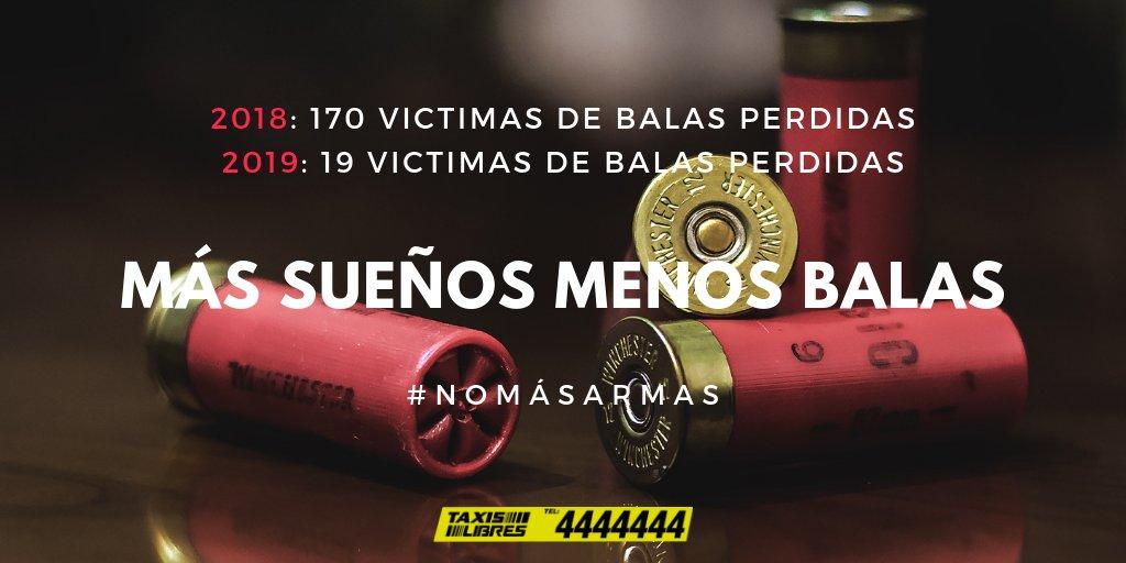 Taxis Libres Los 4's photo on #NoMasBalasPerdidas