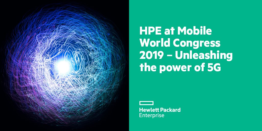 HPE DACH's photo on #MWC19