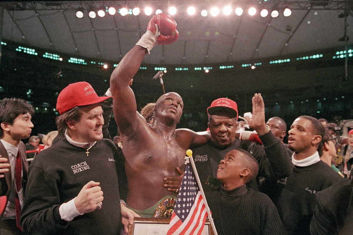 29 years ago today: One of the biggest upsets in sports history.  Mike Tyson, undefeated and undisputed heavyweight champion of the world, lost by knockout to underdog Buster Douglas