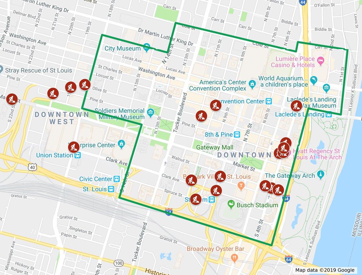 Downtown St. Louis's photo on Google Maps
