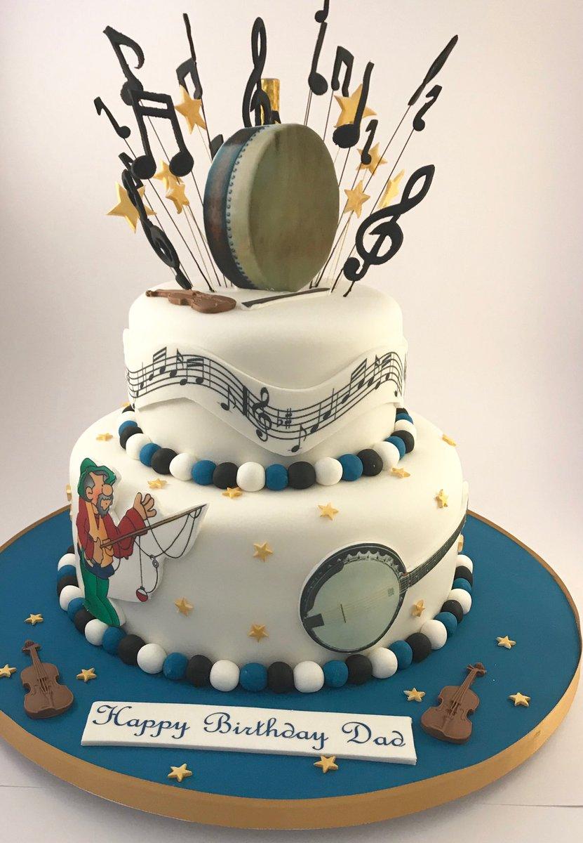 Fabulous The Danes Bakery On Twitter Music Themed Birthday Cake Funny Birthday Cards Online Alyptdamsfinfo