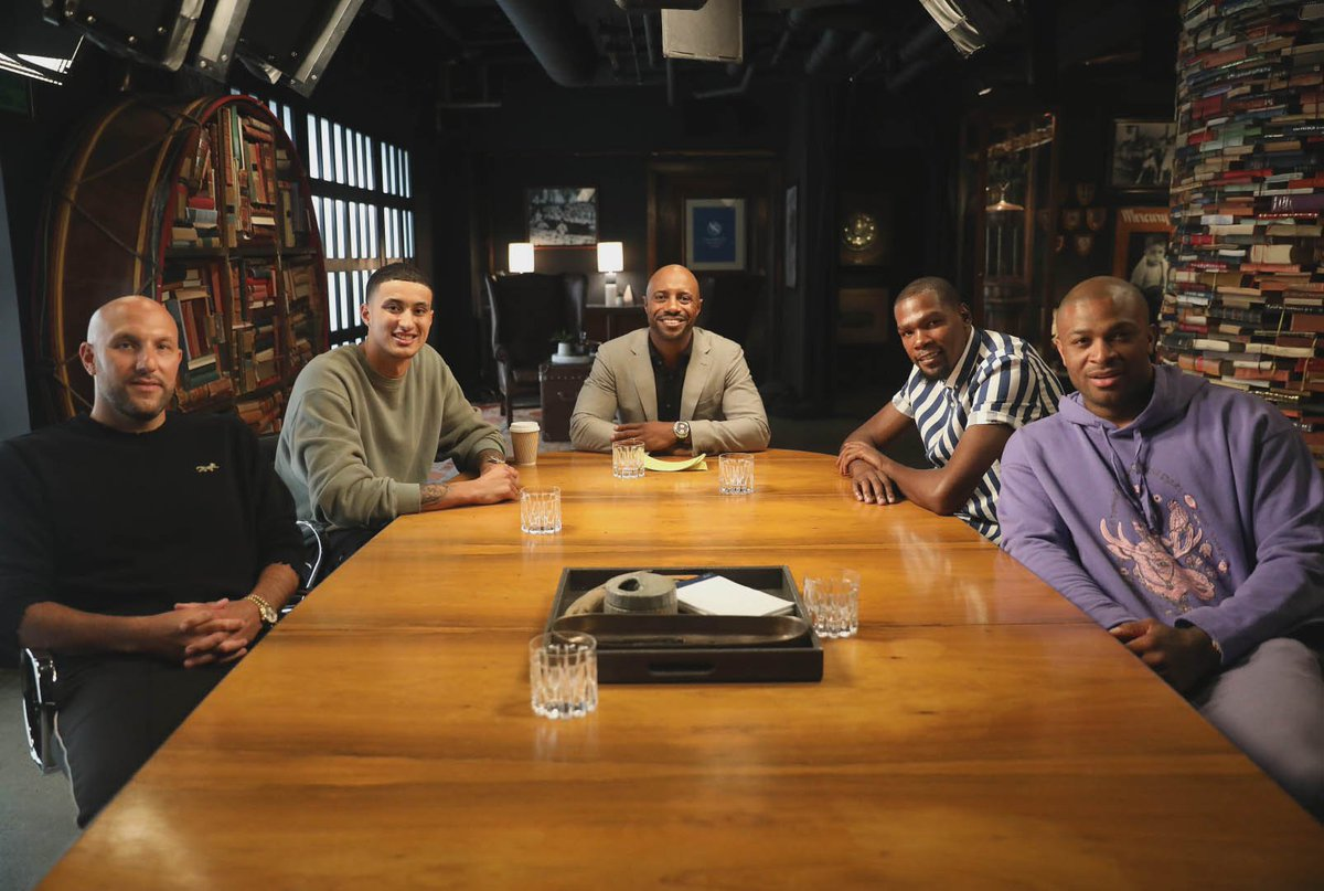 Watch the first two episodes of The Boardroom now on ESPN+ @KDTrey5 @RealJayWilliams @richkleiman  https://es.pn/2GA2rGt