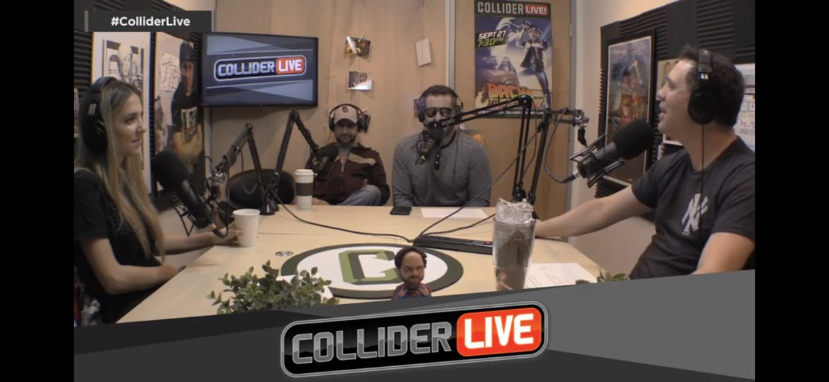 Collider Live's photo on New Week