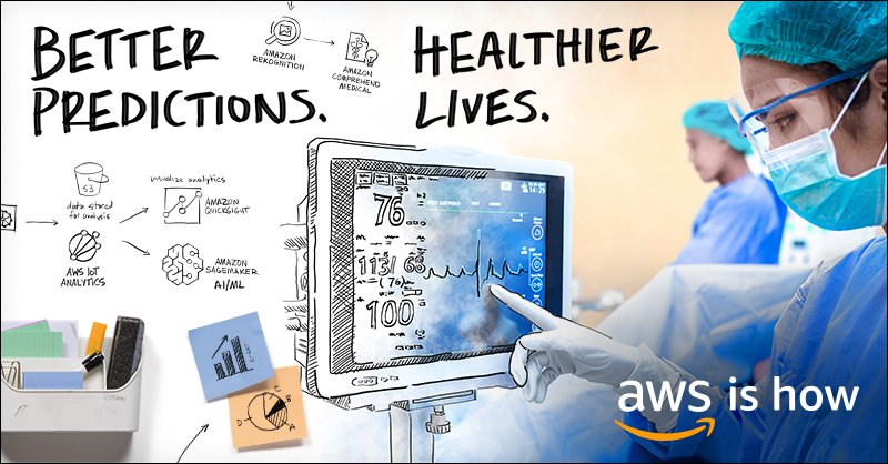 Amazon Web Services's photo on #HIMSS19