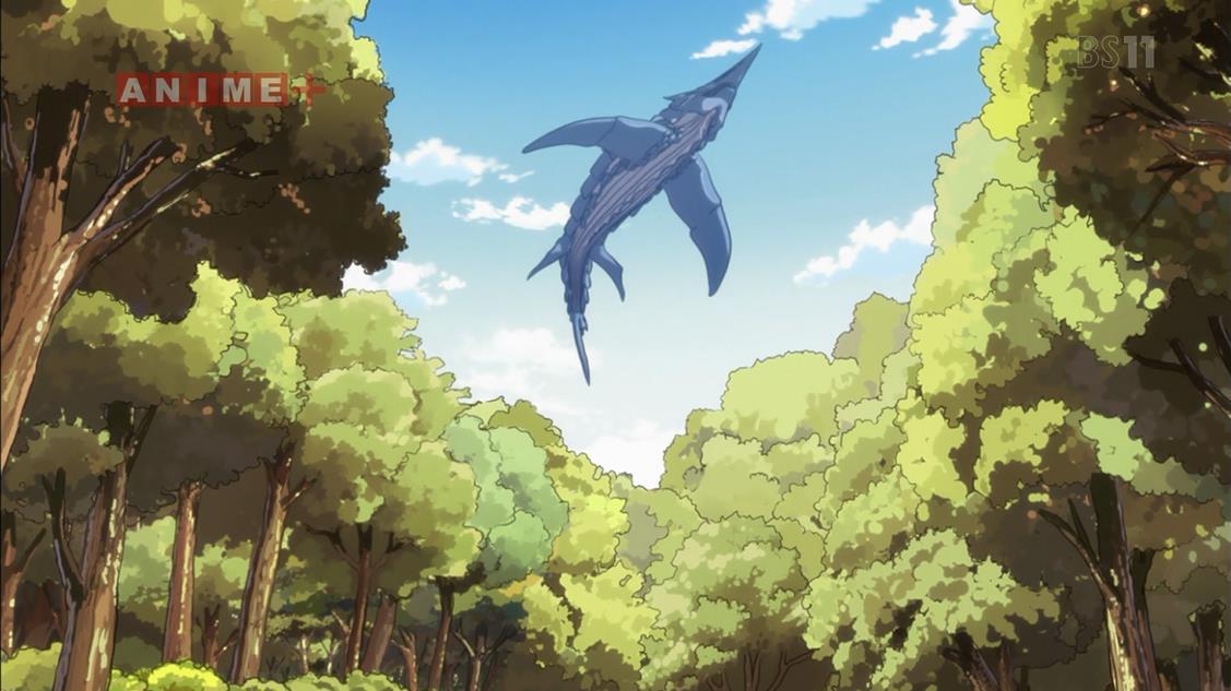 このサメ、ぬるぬる動くぞ!! #tensura https://t.co/HPbGZ7ZwT0