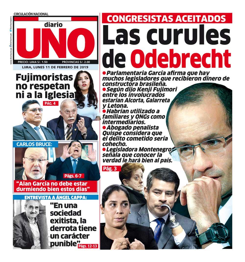 Diario UNO's photo on Lunes 11