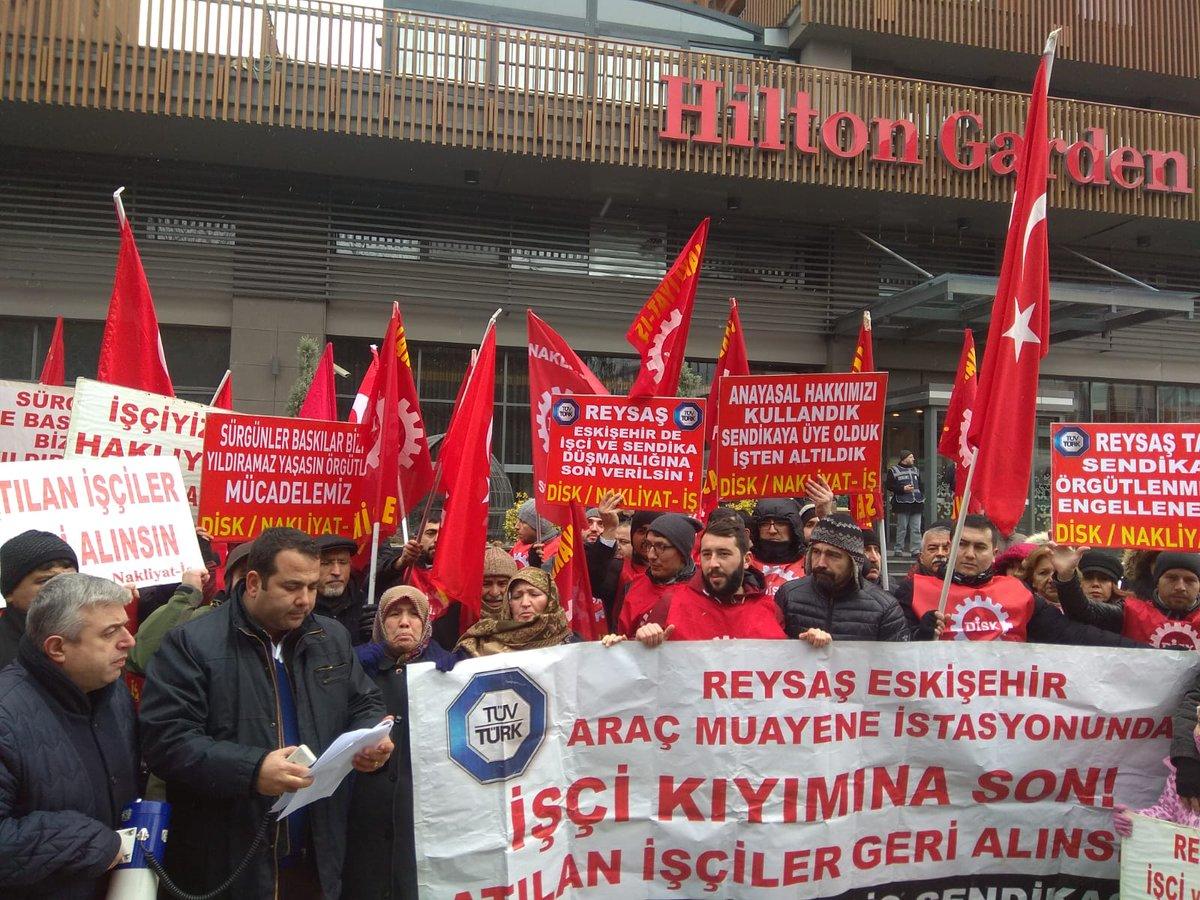 RT @ozcelikali1: #İşçiSendikaDüşmanıREYSAŞ https://t.co/iXBYLdRZNw
