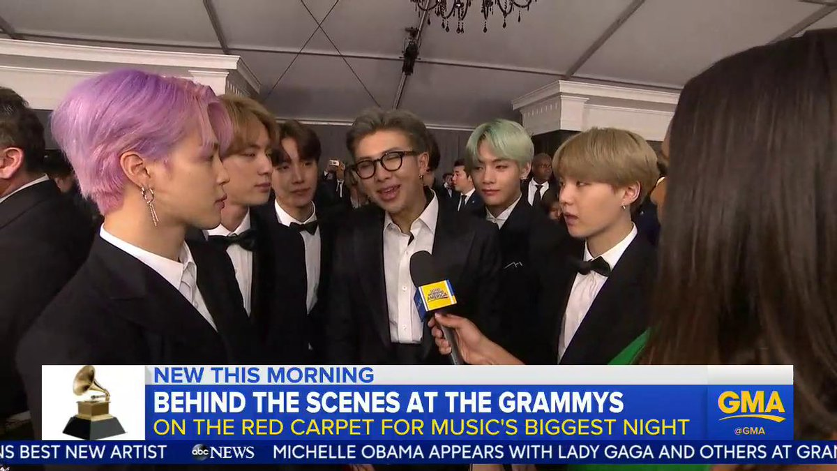 Good Morning America's photo on #btsarmy