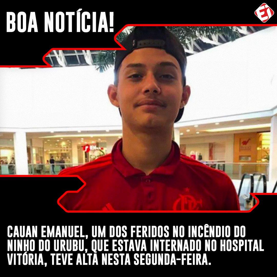Esporte Interativo's photo on Cauan Emanuel